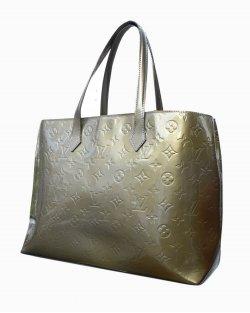 Bolsa Louis Vuitton Perle Wilshire MM verde