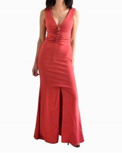 Vestido Roberto Cavalli vermelho