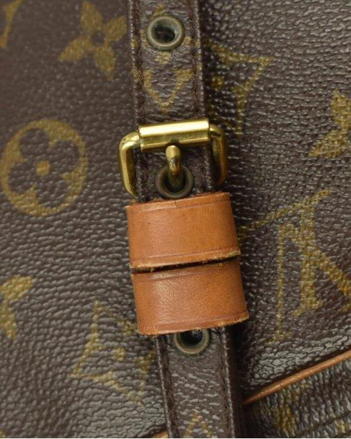 Bolsa Louis Vuitton Marly Pochette monograma