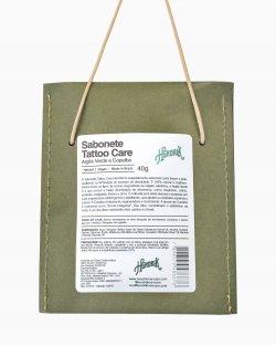 Sabonete Tattoo Care - Argila Verde e Copaíba Hendrik 40g