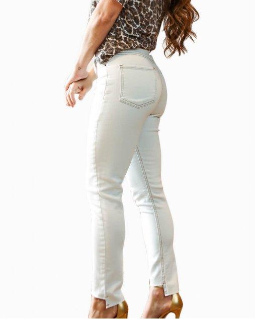 Calça Skinny Joanna - Off White Nuii Store