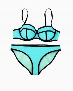 Bikini Triangl azul turquesa
