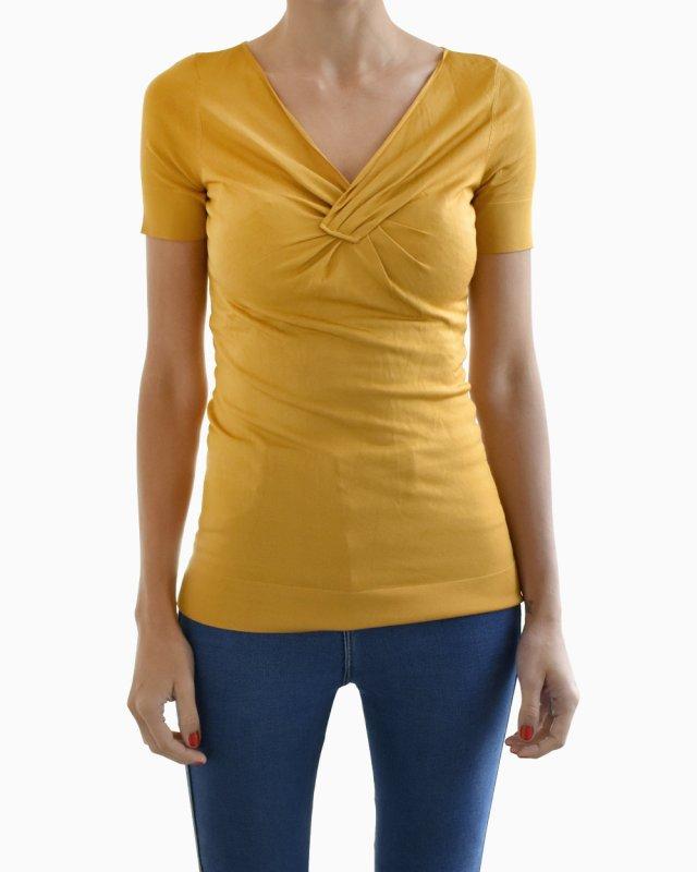 Blusa Gucci dourada