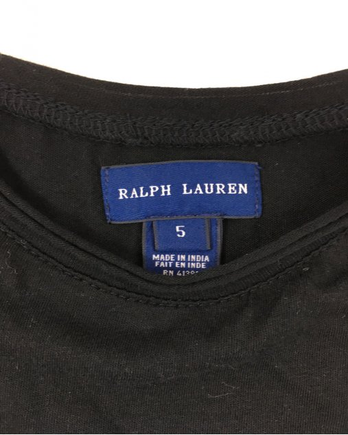 Blusa Infantil Ralph Lauren Preto