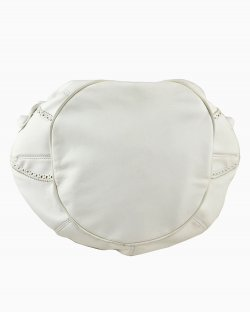 Bolsa Balenciaga Covered Pompon Branca