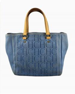 Bolsa Carolina Herrera Azul