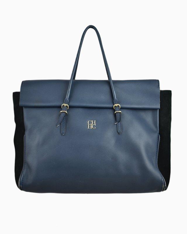 Bolsa Carolina Herrera Azul  Marinho