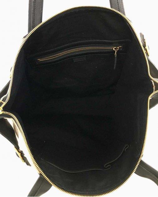 Bolsa Celine Bicolor Tecido