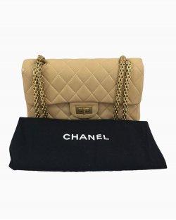 Bolsa Chanel 2.55 Bege