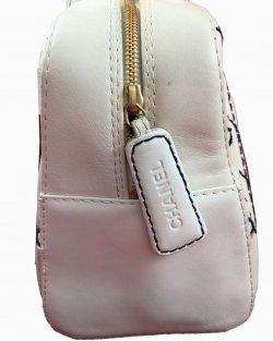 Bolsa Chanel Branca Vintage