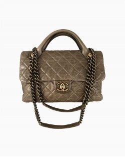 Bolsa Chanel Castle Rock Capuccino