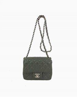 Bolsa Chanel Classic Flap Mini Verde
