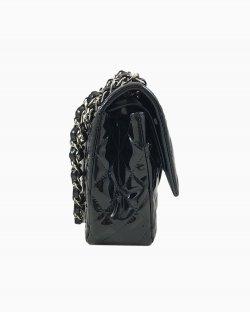 Bolsa Chanel Classic Flap Verniz