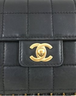 Bolsa Chanel Clássica Ferragem Dourada