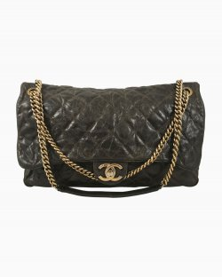 Bolsa Chanel Couro Marrom