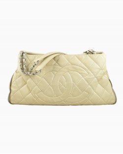 Bolsa Chanel Expandable Off White