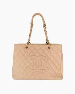 Bolsa Chanel GST Bege