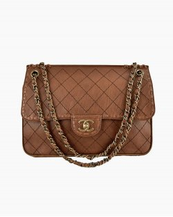Bolsa Chanel Limited Edition Marrom