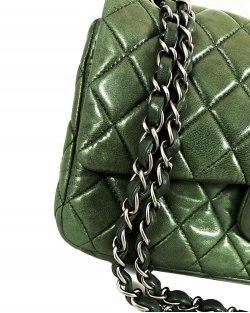 Bolsa Chanel One Flap Verde