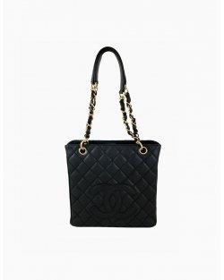 Bolsa Chanel Petit Shopper Tote Preta