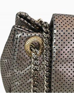 Bolsa Chanel Prateada