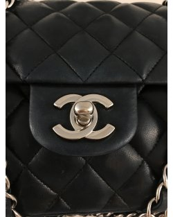 Bolsa Chanel Preta Double Flap