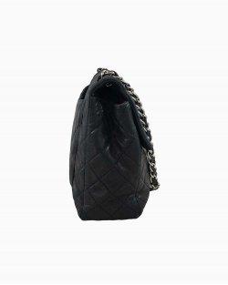 Bolsa Chanel Preta Maxi LambSkin
