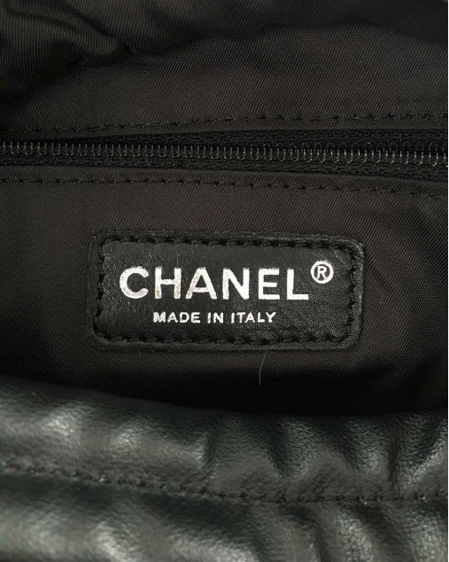 Bolsa Chanel Tecido Preto