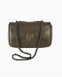 Bolsa Chanel Timeless Dourada