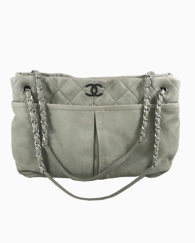 Bolsa Chanel Cinza