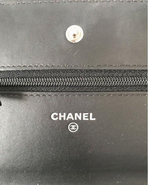 Bolsa Chanel Woc Lambskim Preta