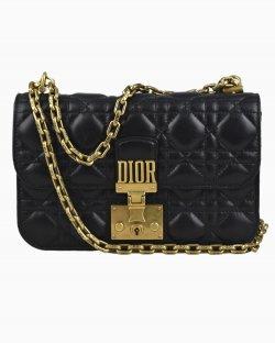 Bolsa Chirstian Dior Addict Preta