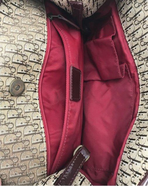 Bolsa Christian Dior Trotter Monograma