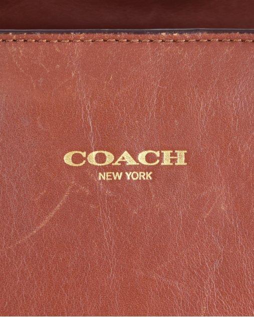 Bolsa Coach Marrom