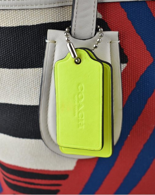 Bolsa Coach Tecido Estampado