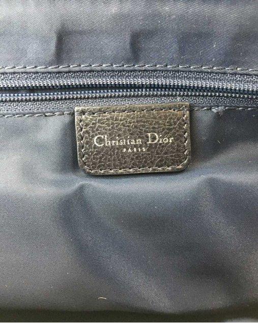 Bolsa Dior Vintage Azul Marinho