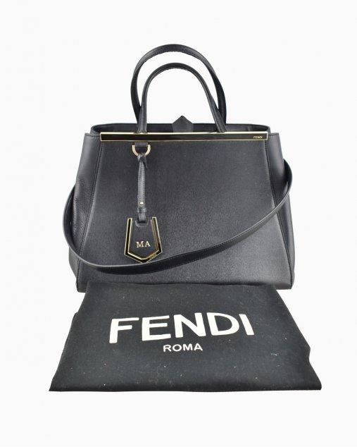 Bolsa Fendi 2Jours Preta