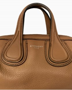 Bolsa Givenchy Nightingale Micro Marrom