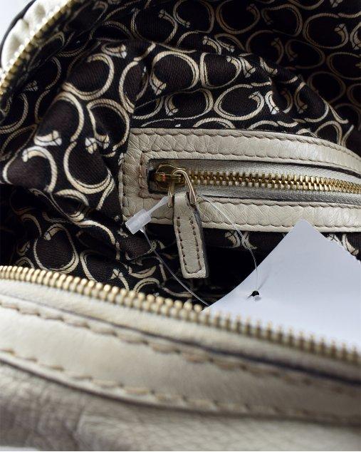 Bolsa Gucci Horsebit Nail Off White