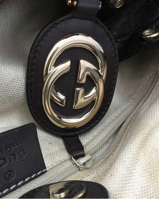 Bolsa Gucci Sukey Marrom