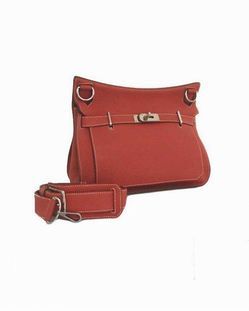 Bolsa Hermès Jypsiere Vermelha 28
