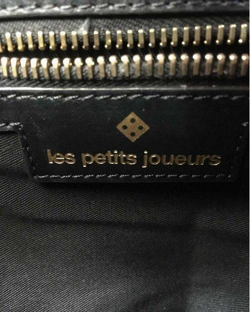 Bolsa Les Petits Joueurs Preta e vermelha