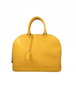 Bolsa Louis Vuitton Alma EPI GM Amarela