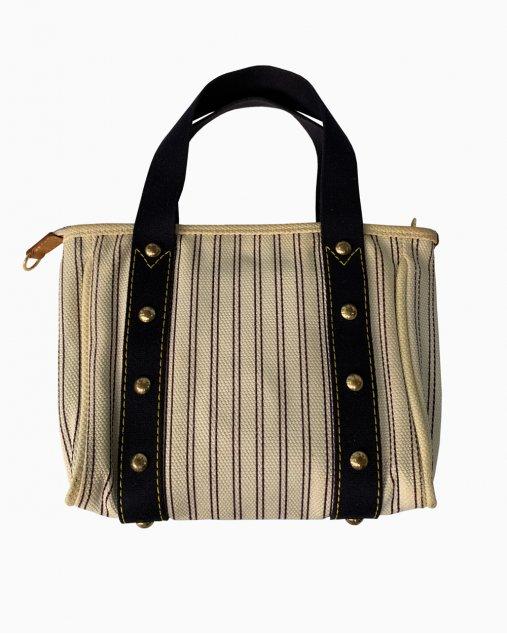 Bolsa Louis Vuitton Antiguas Tecido Listrado