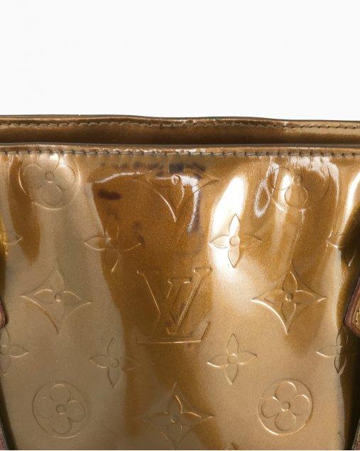 Bolsa Louis Vuitton Houston Vernis Bronze