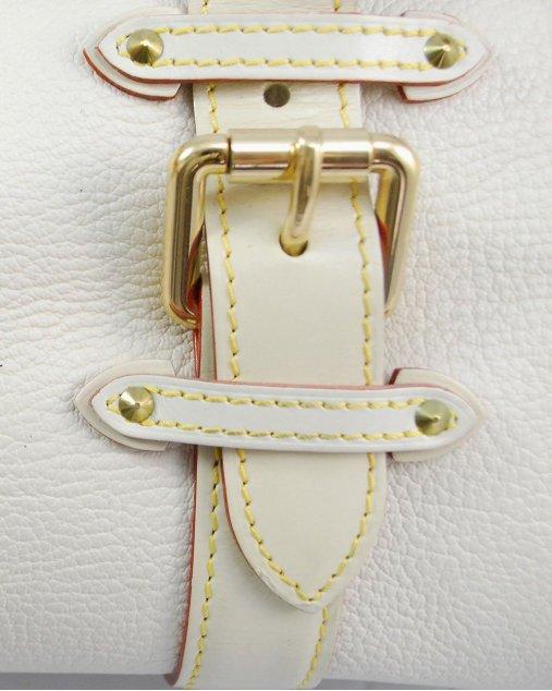 Bolsa Louis Vuitton OffWhite Couro