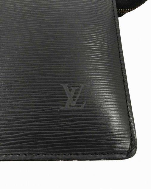 Bolsa Louis Vuitton Sac Triangle EPI Preto