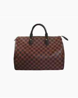 Bolsa Louis Vuitton Speedy 35 Damier Ébene