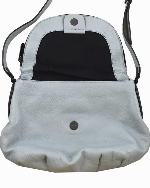 Bolsa Marc by Marc Jacobs Couro Azul Pastel
