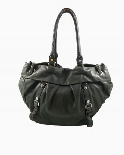 Bolsa Marc by Marc Jacobs Couro Grafite
